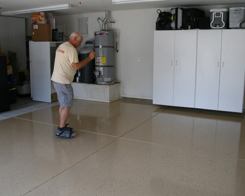 concrete epoxy flooring