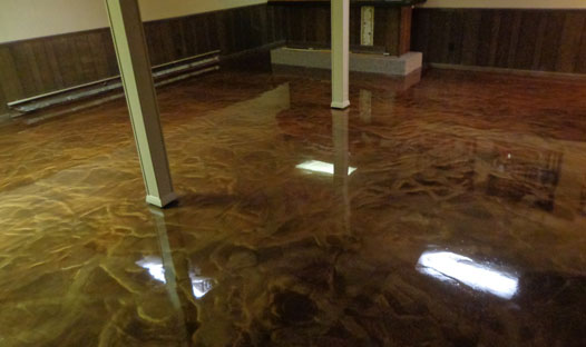 Basements Floor Coating