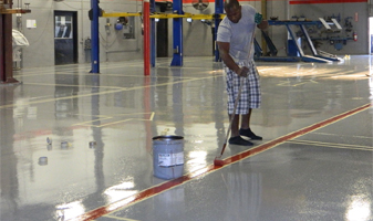 Industrial Grade Epoxy Floor Coating